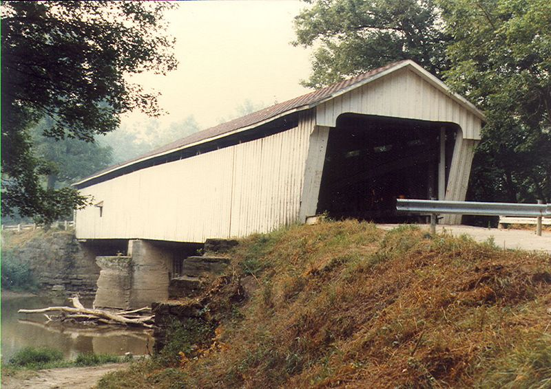 Darlington Covered Bridge, Montgomery County, Indiana.