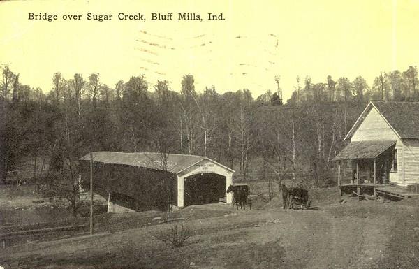 Deers Mill Covered Bridge