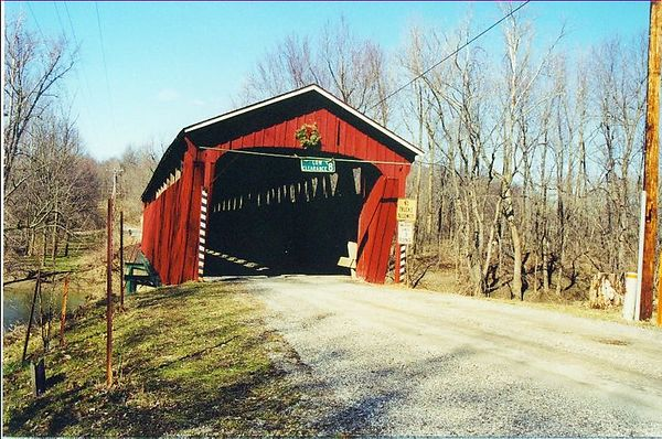 Indiana Covered Bridges of Today