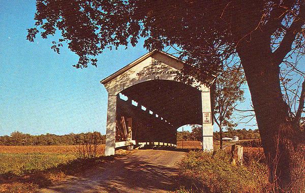 Leatherwood Station Covered Bridge