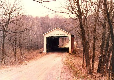 Rush Creek Covered Bridge