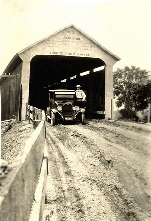 Thorpe Ford Covered Bridge