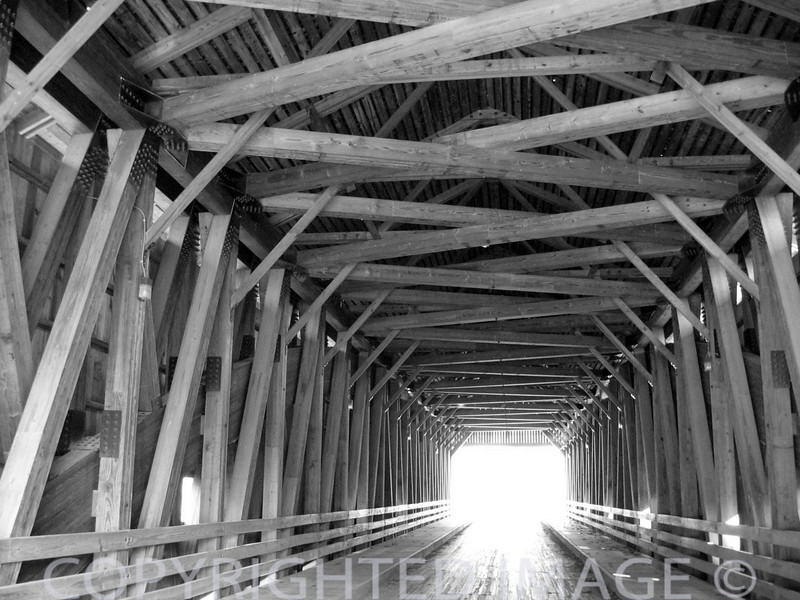Covered bridge at Greenup, IL