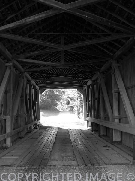 Phillips covered bridge in Parke Co., IN