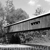 Cox Ford Bridge over Sugar Creek west of Turkey Run Park in Parke County, Indiana.
