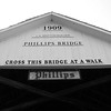 Phillips Covered Bridge west of Rockville in Parke County, Indiana.