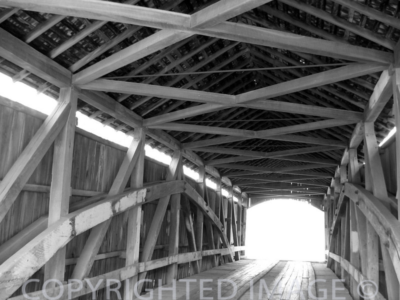 Covered Bridges (B & W) #