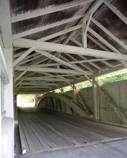 Geiger's Covered Bridge (interior) Jordan Creek, PA _MG_138902