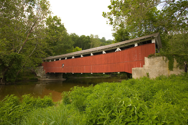Schlicter's Covered Bridge Jordan Creek, PA _MG_139701