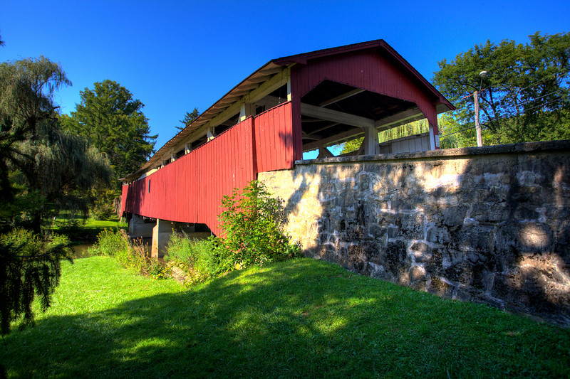 Bogert Covered Bridge (HDR)