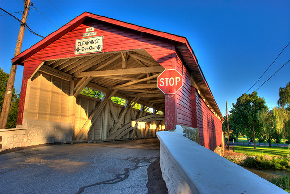 Mills and Covered Bridges