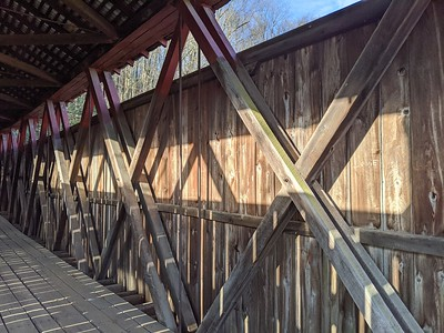 Howe Truss at Kintersburg