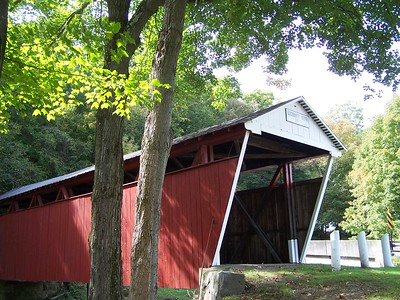 Morning at Kintersburg Covered Bridge