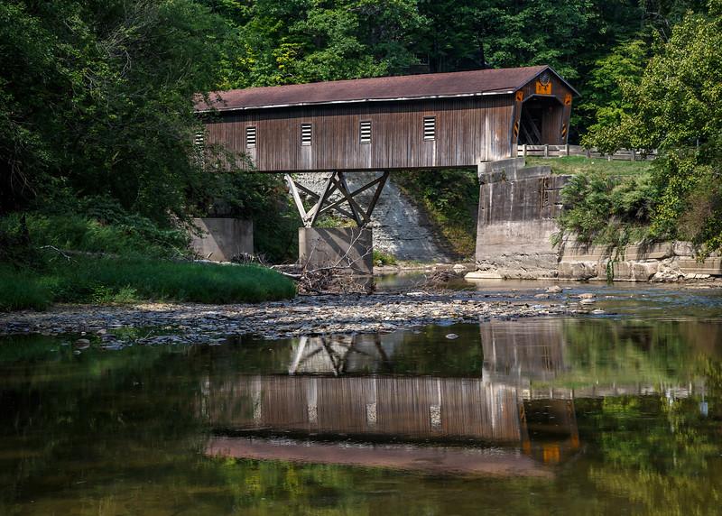Creek Road Bridge - Ashtabula County, OH - 2015