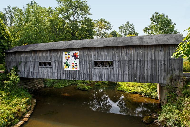 South Denmark Road Bridge - Ashtabula County, OH - 2015