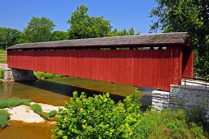 Cataract Bridge - Owen County, IN - 2013