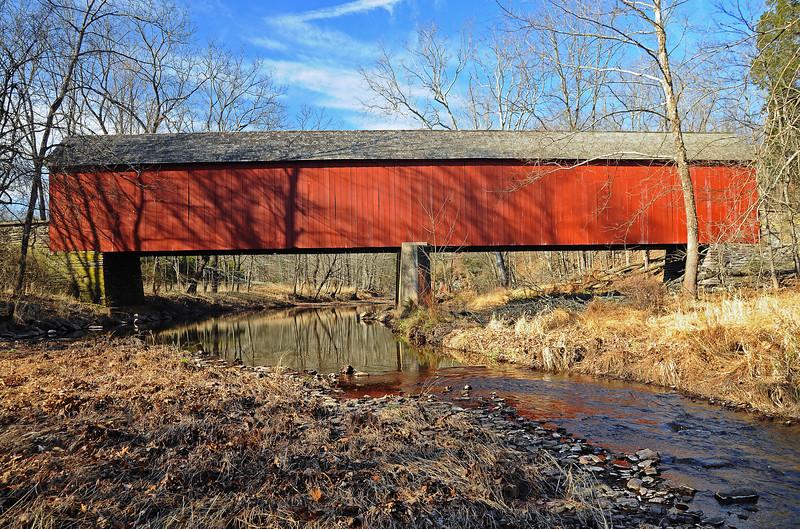 Frankenfield Covered Bridge - Bucks County, PA - 2012