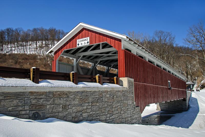 Schlicher's Bridge - Lehigh County, PA - 2015