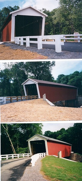 Thomas Bridge Reconstruction Photos