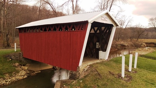 A New Roof for the Trusal Covered Bridge