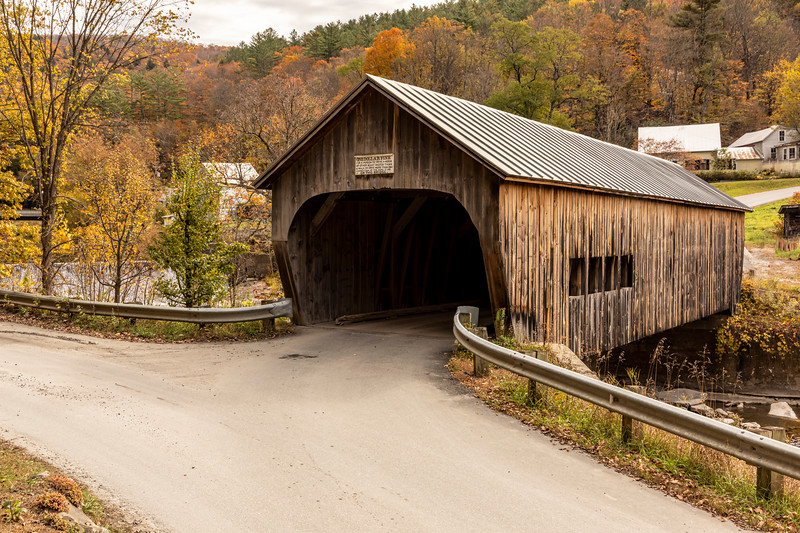 VT Mill Covered Bridge 01