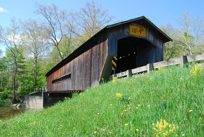 Creek Road Covered Bridge Picture