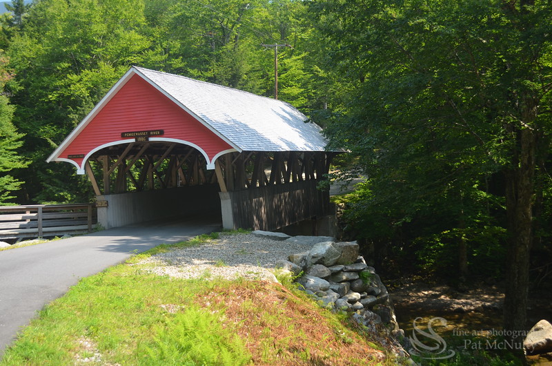 Flume Covered Bridge Picture