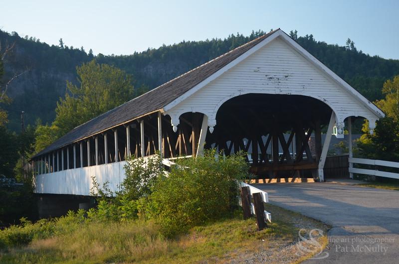 Stark New Hampshire  Covered Bridge Picture