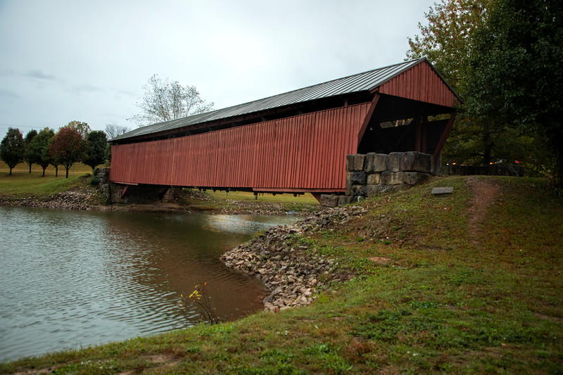 WV Mud River Covered Bridge 2