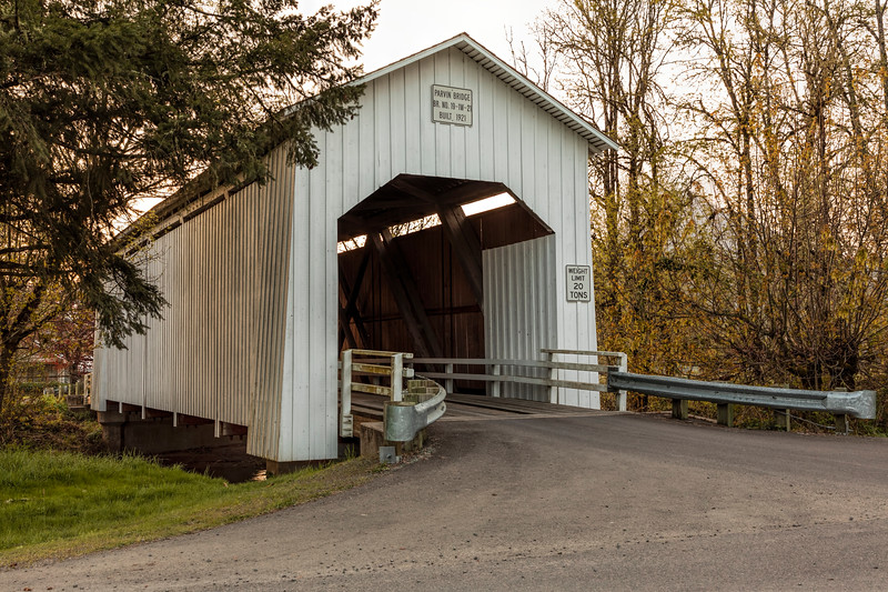 OR Parvin Covered Bridge