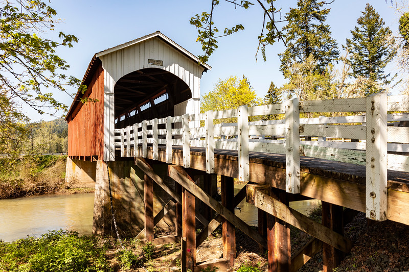 OR Currin Covered Bridge