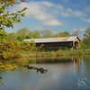 Caine Rd Covered Bridge Picture