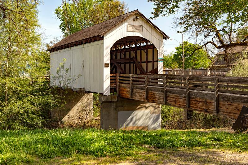 OR Antelope Creek Covered Bridge