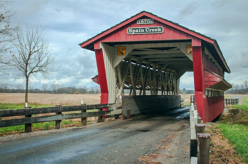 Spain Creek Bridge - Union County, Oh.