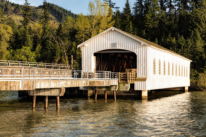 OR Lowell Covered Bridge