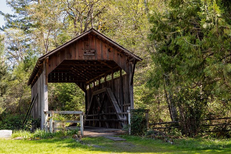 OR Lost Creek Covered Bridge