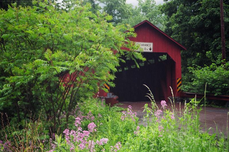 Covered Bridge in Poconos Picture