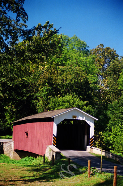 Pinetown Lancaster Covered Bridge Photo