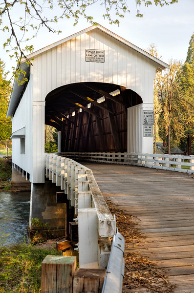 OR Pengra Covered Bridge