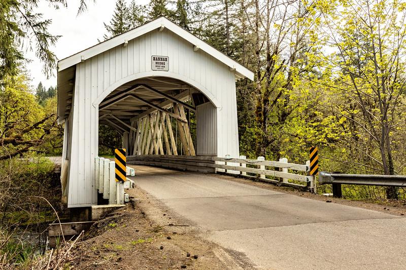 OR Hannah Covered Bridge