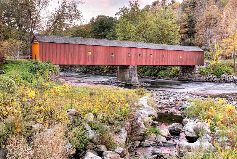 West Cornwall Covered Bridge 02