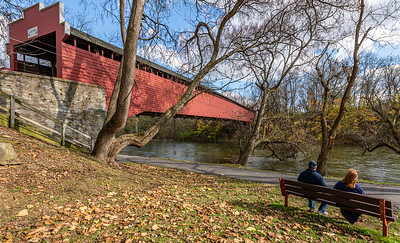 "Wertz ""Red"" Covered Bridge"