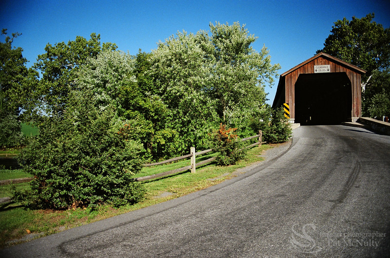 Hunsikersmill Covered Bridge