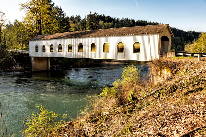 OR Goodpasture Covered Bridge