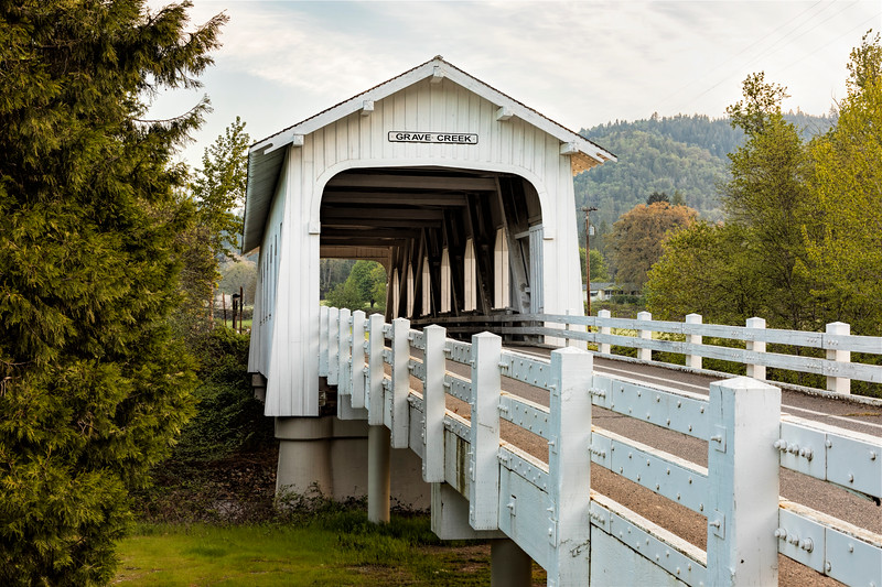 OR Grave Creek Covered Bridge