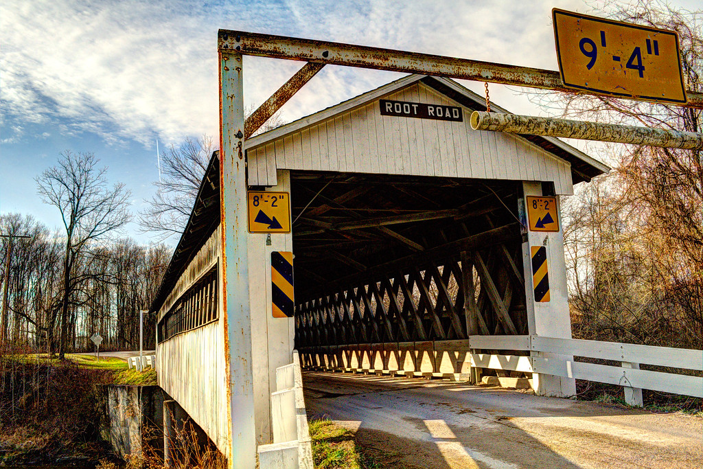 Root Rd. Bridge#1 - Ashtabula County, Oh.