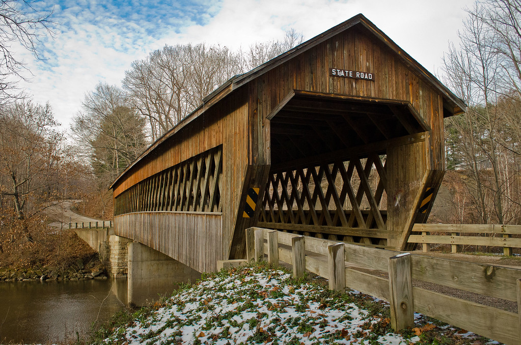 Slate Rd. Bridge #1 - Ashtabula County, Oh.