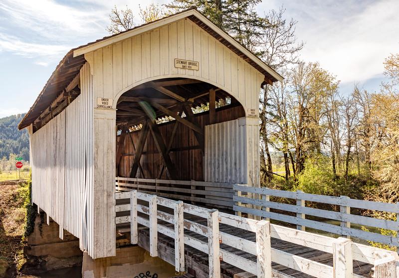 OR Stewart Covered Bridge