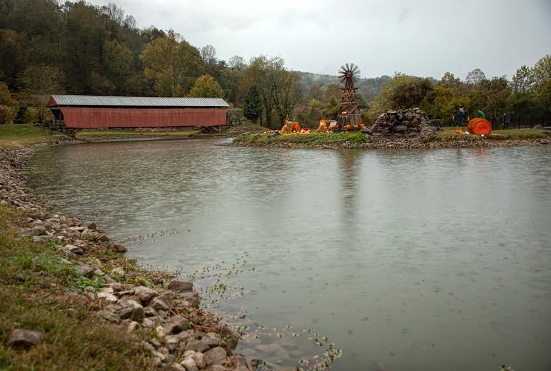 WV Mud River Covered Bridge 1