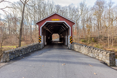 Entering Kurtz Mill Covered Bridge